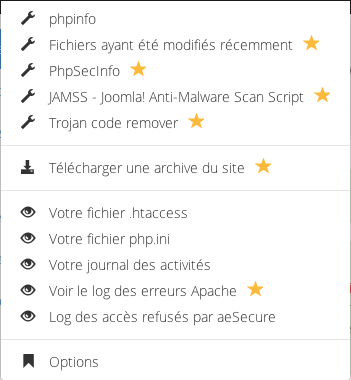 Outils aeSecure